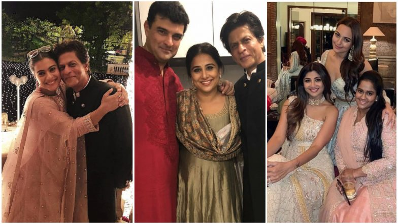 Shah Rukh Khan's Diwali 2018 Party Inside Pics and Videos: Here's How Bollywood Celebs Bonded With Each Other in a Brightly Lit Mannat