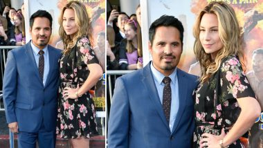 Narcos: Mexico Star Michael Pena Buys the Most Beautiful Gift for His Wife From India