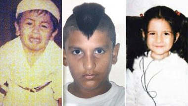 Happy Children's Day 2018: Have You Seen These Throwback Pics of Ranveer Singh, Ranbir Kapoor, Katrina Kaif and Other Celebs as Kids?