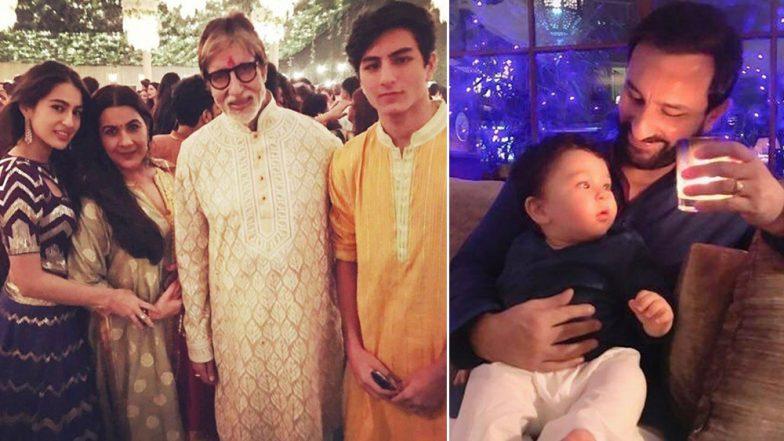 From Ranbir Kapoor-Deepika Padukone to Taimur Ali Khan, Sara Ali Khan- Throwback to Bollywood's Best Diwali Moments