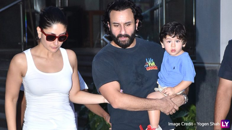 Taimur Ali Khan Looks Cute As a Button As He Goes on a Shopping Spree With Kareena Kapoor and Saif Ali Khan - See Pics