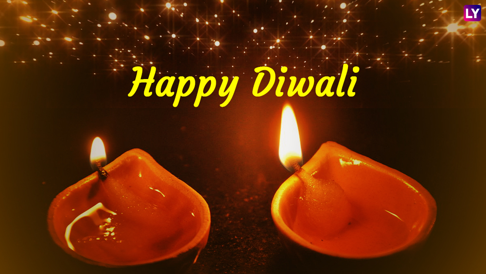 Happy Diwali 2019 Greetings in Different Indian Languages: WhatsApp Stickers, Messages, SMS, Hike GIF Images and Quotes to Wish on Badi Deepawali