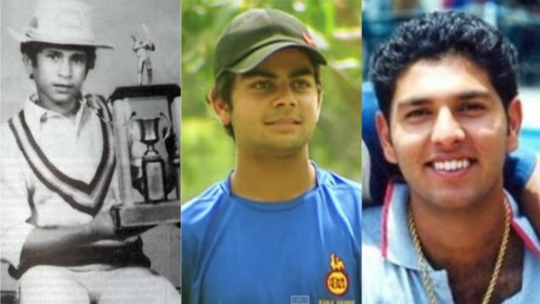 Children's Day 2018: Childhood Stories of Successful Cricketers Like Virat Kohli, Sachin Tendulkar Is Something You Need to Read Today