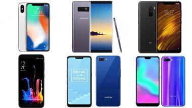 Diwali 2018 Offers on Mobile Phones via Flipkart & Amazon: Top 6 Online Deals on Smartphones