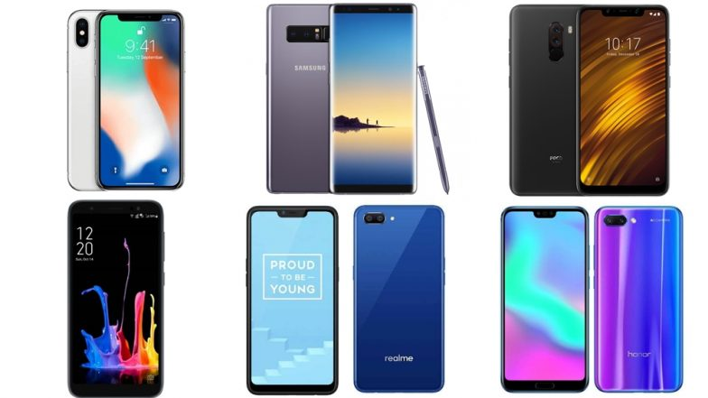Diwali 2018 Offers on Mobile Phones via Flipkart & Amazon: Top 6 Online Deals on Smartphones