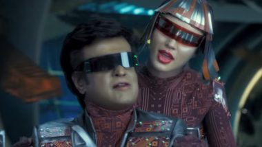 2.0 Song Tu Hi Re: Rajinikanth and Amy Jackson Groove to an Unimpressive Number by AR Rahman – Watch Video