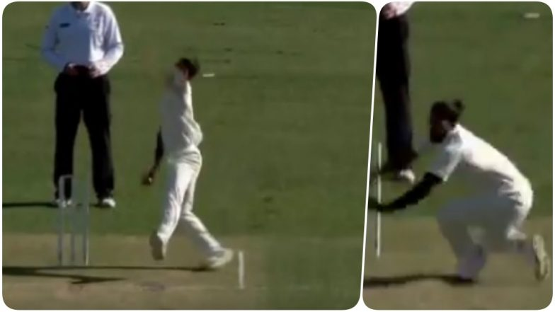 Umesh Yadav has an Awkward Moment; Slips While Bowling His First Delivery of India's Tour of Australia 2018 (Watch Video)