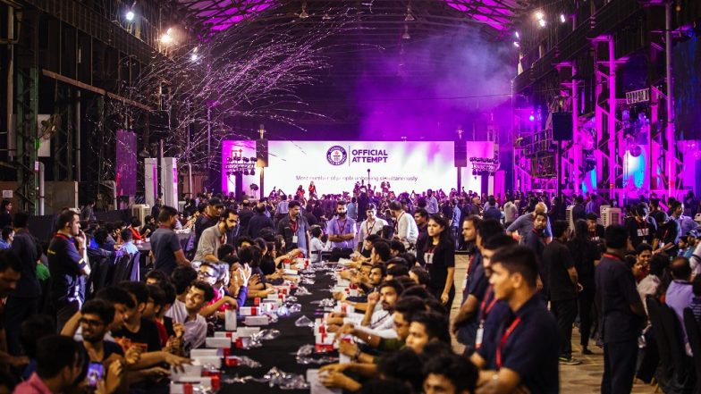 OnePlus Breaks Guinness World Record With OnePlus 6T Mega Unboxing Event in Mumbai