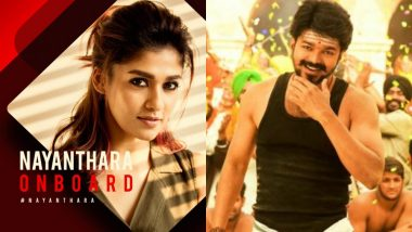 Nayanthara Cast Opposite Vijay in Atlee's Thalapathy 63