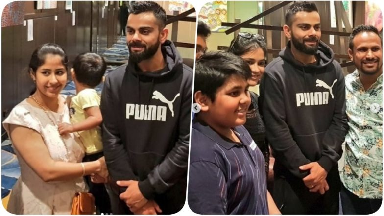 Virat Kohli Spends Time With his Fans in Australia Ahead of the First T20 Game (See Pics)
