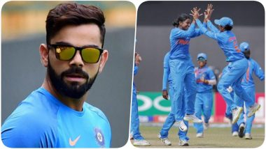 India vs Ireland, ICC T20 Women's World Cup 2018: Virat Kohli Sends Words of Encouragement to Harmanpreet Kaur & Co (Watch Video)