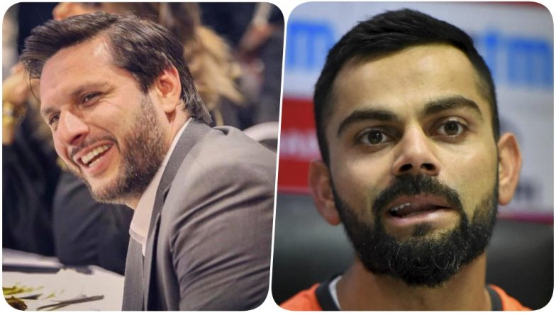 Shahid Afridi on Virat Kohli, 'He Is My Favourite Player, but Needs to Improve As Captain'