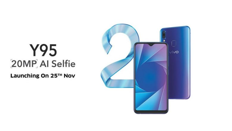 Vivo Y95 Smartphone with Snapdragon 439 SoC To be Launched in India on November 25