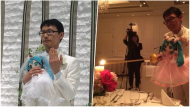 Japanese Man Marries Virtual Star Hatsune Miku Hologram Doll! View Pics of Bizarre Wedding