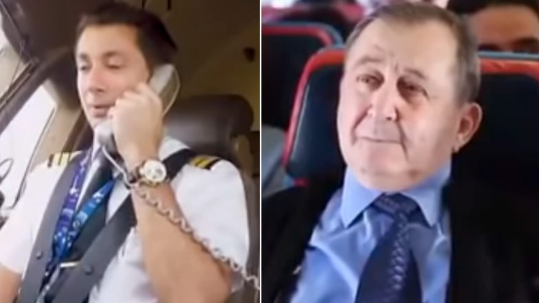 Turkish Airlines' Pilot Surprises His Teacher Who Was Flying With Him; Watch Heartwarming Video