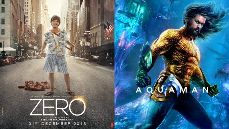 Jason Momoa's Aquaman Avoids Clash with Shah Rukh Khan's Zero; Will Release on December 14