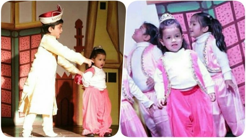 MS Dhoni's Daughter Ziva Enthralls the Audiences With her Cute On-Stage Performance in School (See Pics)