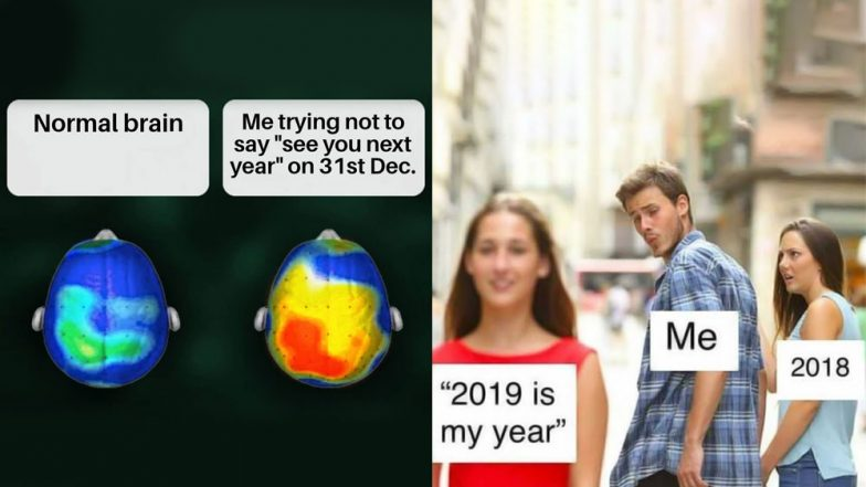 Happy New Year 2019: Funny New Year Memes With Hilarious Quotes & GIF Images to Wish Your Friends Who Are Not Partying This New Year Eve