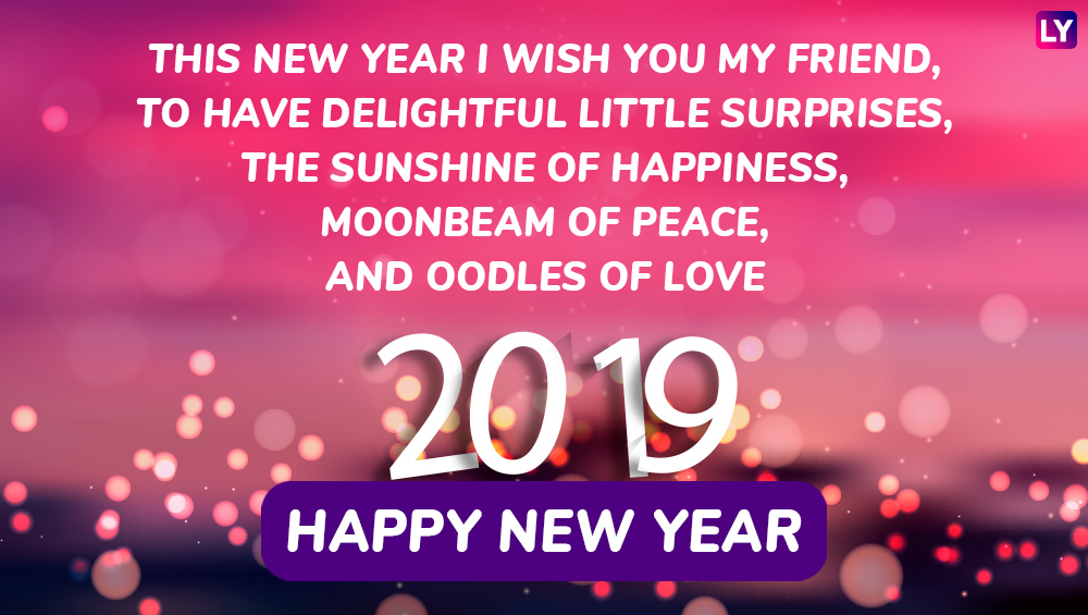 Happy New Year 2019 Wishes In Advance Whatsapp Stickers Facebook