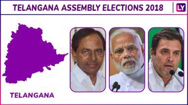 Medchal, Malkajgiri, Quthbullapur, Kukatpally, Uppal, Ibrahimpatnam Elections Results Live News Updates: TRS Ahead in Medchal