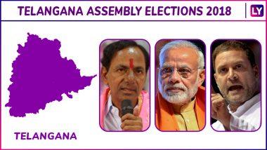 Sirpur, Chennur, Bellampalli, Mancherial, Asifabad, Khanapur Elections Results Live News Updates: TRS Ahead in Bellampalli