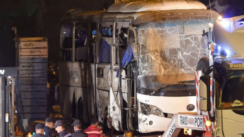 Egypt Bus Attack: Police Kill 40 'Terrorists' After Blast Near Giza Pyramid, Says Ministry