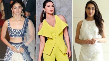 Priyanka Chopra, Alia Bhatt and Sara Ali Khan's Style Statements Impress The Fashion Lovers In Us - View Pics
