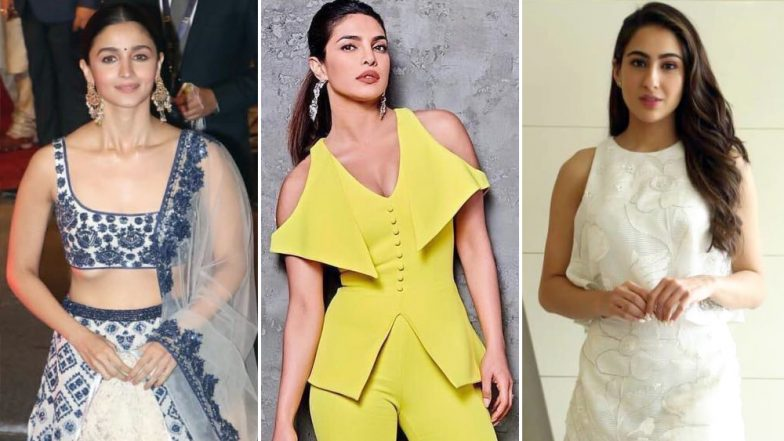 Priyanka Chopra, Alia Bhatt and Sara Ali Khan's Style Statements Impress The Fashion Lovers In Us - View Pics