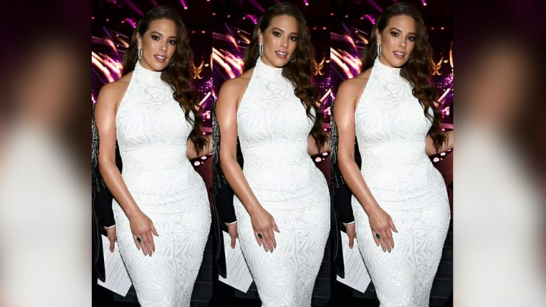 Miss Universe 2018: Ashley Graham Won Hearts in the White Bodycon High-Neck Dress Flaunting Her Curves After Sharing Her Nude Selfie From Bangkok,Thailand