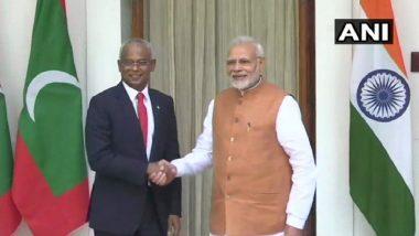 Narendra Modi Extends USD 1.4 Billion Assistance to Maldives, After Extensive Talks With President Ibrahim Mohamed Solih