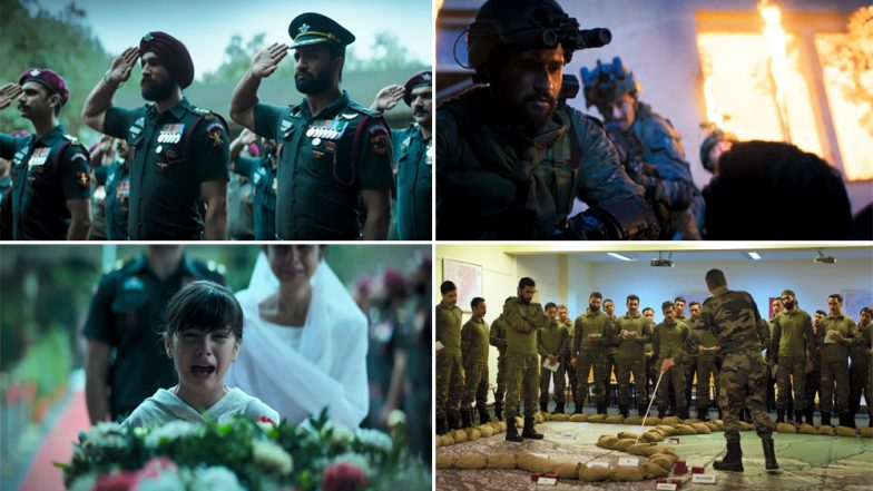 Uri Trailer: Vicky Kaushal and Yami Gautam Starrer Narrates the Ultimate Bravery of Indian Army During the Surgical Strikes of 2016 - Watch Video