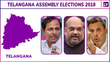 Telangana Assembly Elections 2018 Winners List: Check Constituency-Wise Names of Elected MLA Candidates From TRS, TDP, Congress, BJP, AIMIM
