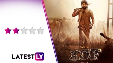 KGF Chapter I Movie Review: Yash Stands Tall in This Needlessly Stretched Violent Saga
