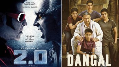 2.0 Box Office Collection: Did Rajinikanth-Akshay Kumar's Film Really Beat Aamir Khan's Dangal? Here's the Truth!