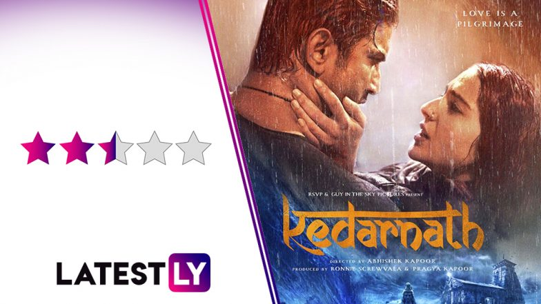 Kedarnath Movie Review: The Real-Life Tragedy Takes a Backseat In Sushant Singh Rajput-Sara Ali Khan's 'Titanic' Inspired Love Story