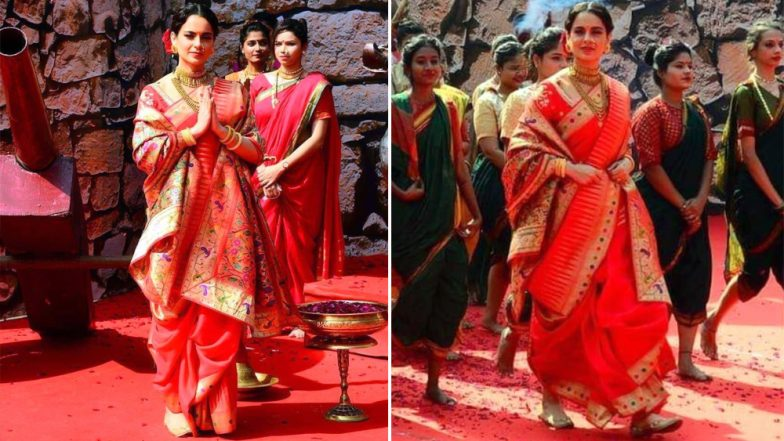 Manikarnika: Queen of Jhansi Trailer Launch: Kangana Ranaut Looks As Royal As Her Character in The Film
