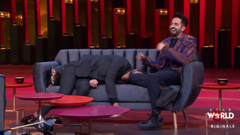 Koffee With Karan 6: Vicky Donor Star Ayushmann Khurrana Says He Has Donated Sperm for Real – Watch Video