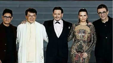 Aamir Khan Shares the Stage wih Johnny Depp and Jackie Chan to Represent India at China's International Film Festival
