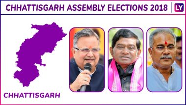 Ramanujganj, Samri, Lundra, Ambikapur, Sitapur, Jashpur Elections Results Live News Updates: Govind Ram Bhagat of BJP is Leading on Jashpur (ST) Assembly Seat in Chhattisgarh