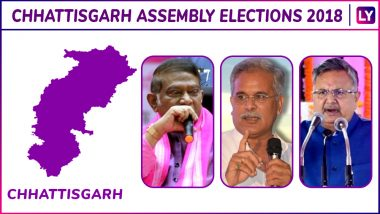 Kunkuri, Pathalgaon, Lailunga, Raigarh, Sarangarh, Kharsia Elections Results Live News Updates: Kharsia Chhattisgarh Assembly Election 2018 Results