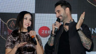 Sunny Leone Sizzles With Husband Daniel Weber At Her New Song 'Lovely Accident' Launch! View Pics