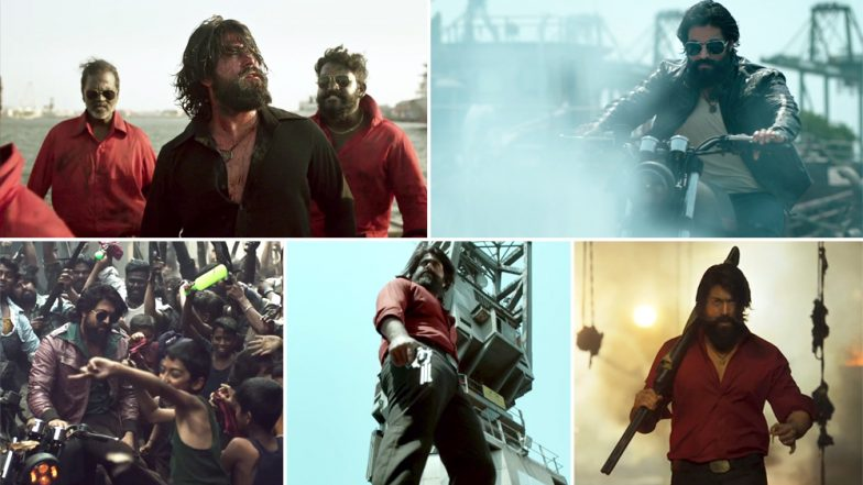 KGF Chapter I Song Salaam Rocky Bhai: All Hail Yash's Stylish Anti-Hero As He Swaggers Through The Mindless Violence - Watch Video