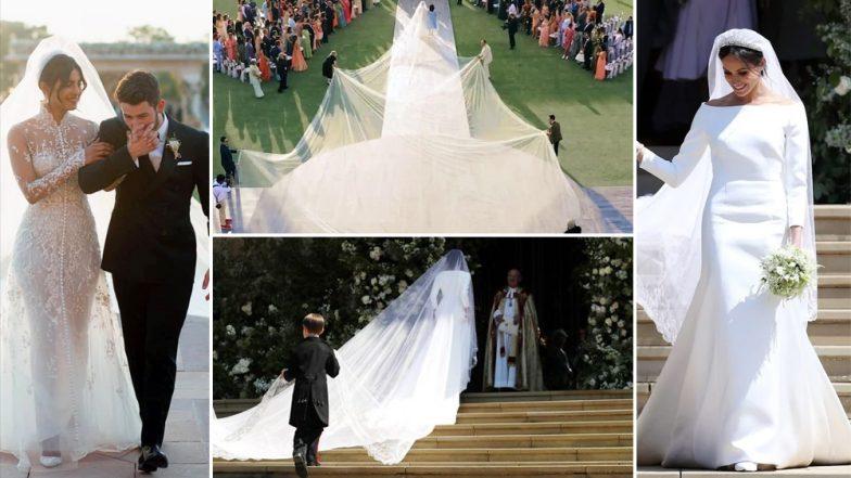 Priyanka Chopra or Meghan Markle, Whose Wedding Veil Was Longer? We Have The Answer