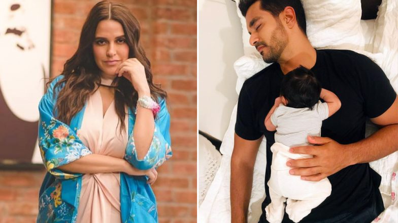 This Pic of Mehr Dhupia with Angad Bedi is a Proof That She is Daddy's L'il Girl!