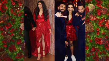 Deepika Padukone - Ranveer Singh Reception: From Heels to Sneakers, Here's How the Bride Was Ready to Dance the Night Away