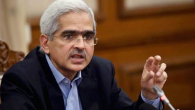 Clear Indication of Economy Losing Traction: RBI Governor Shaktikanta Das