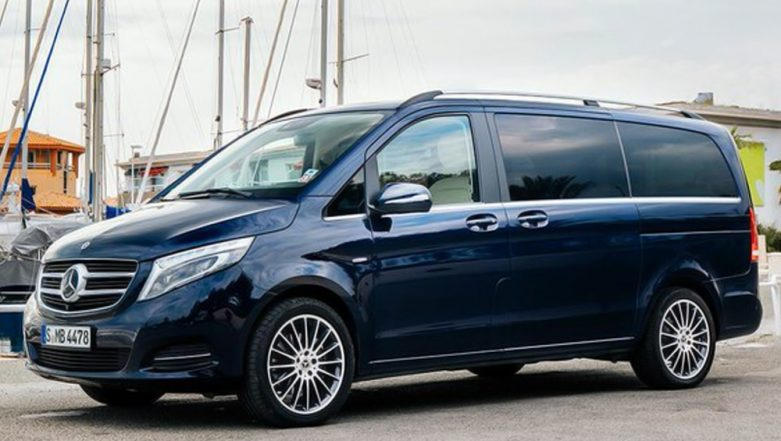 2019 Mercedes-Benz V-Class Luxury MPV To Be Launched in India on 24 January, 2019