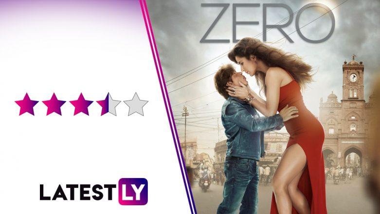 Zero Movie Review: Shah Rukh Khan's Infectious Charm, Anushka Sharma's Brilliant Act and Katrina Kaif's Stunning Performance Win You Over!