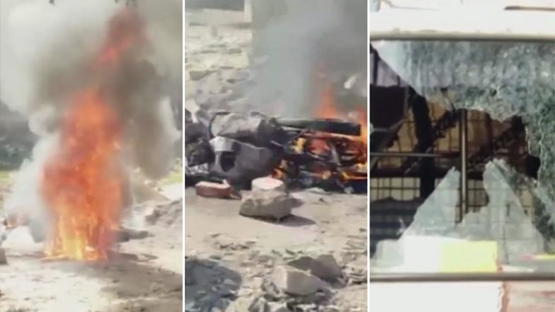 Rajasthan Assembly Elections 2018: Vehicles Vandalised and Set on Fire After Clash Breaks Out Between Two Groups