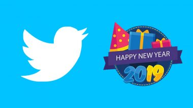 Twitter Shares Happy New Year 2019 GIF Image; Urges To Tweet & Start Year 2019 With A Bang